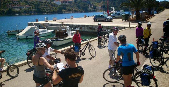 Biking Brna Korcula